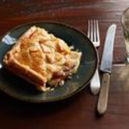 Root Vegetable Slab Pie