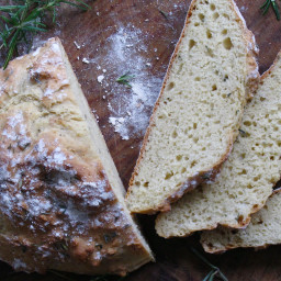 Rosemary and Thyme Soda Bread