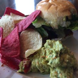 Rosemary Beef Burgers with Jalapeño Mayo