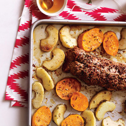 Rosemary Beef with Root Vegetables