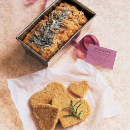 Rosemary-Oatmeal Tea Breads