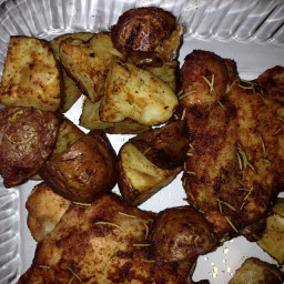 Rosemary Roasted Chicken with Potatoes