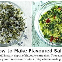 Rosemary, Sage, Thyme and Garlic Salt