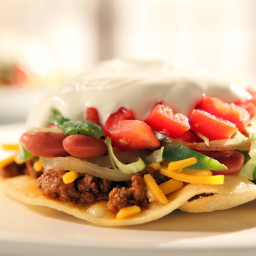 Round 2 Recipe - Chili Tostada