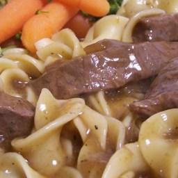 Round Steak Sauerbraten