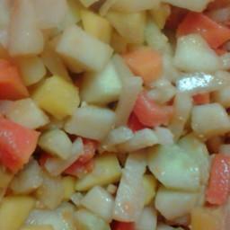 Rujak (Pungent Fruit Salad)