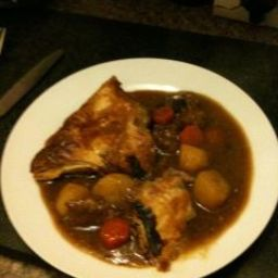 Rustic Steak and Ale Pie