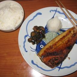 Saba Shiyoyaki Japanese Grilled Mackerel
