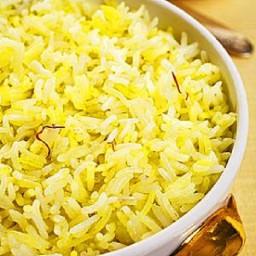 Saffron Coconut Vermicelli Rice