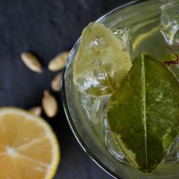 Saffron Vodka Cocktail