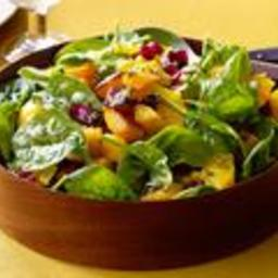 Salad - Roasted Butternut Squash Salad With Tangerine-Rosemary Vinaigrette