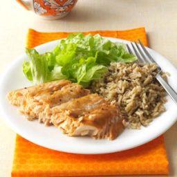Salmon with Brown Sugar Glaze Recipe