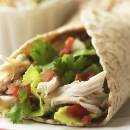 Salsa Chicken Wraps