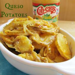 Salsa Con Queso Potatoes