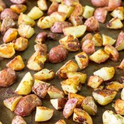 Salt and Vinegar Roasted Potatoes Recipe