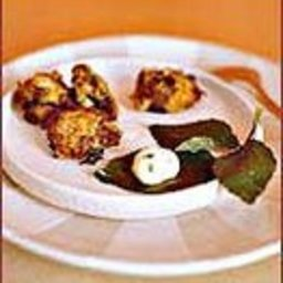 Salt Cod Cakes with Herbed Mayonnaise