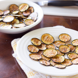 Salt and Vinegar Zucchini Chips Recipe