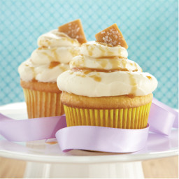 Salted Caramel and Cinnamon Cupcakes
