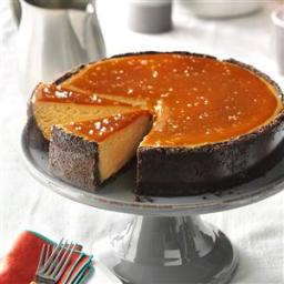 Salted Caramel Cappuccino Cheesecake Recipe