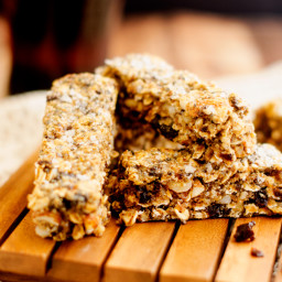Salted Fruit and Nut Bars