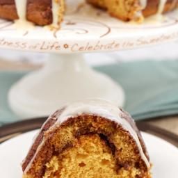 Salted Butterscotch Coffee Cake