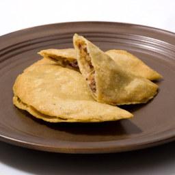 Salvadoran Stuffed Masa Cakes