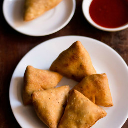 samosa recipe - makes about 12 samosas