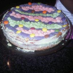 Sandra: Eggless Cake