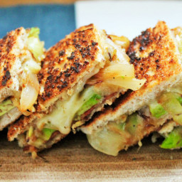 Sandwich - Grilled Two-Cheese Avocado Sammie - BigOven