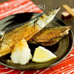 Sanma Shioyaki (Salt-Grilled Pacific Saury)
