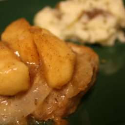 Sarah's Favorite Pork Chops & Cinnamon Apples
