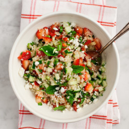 Sara's Strawberry Tabbouleh