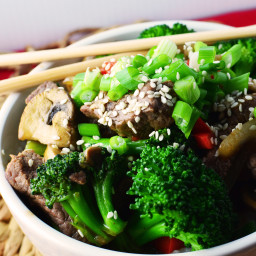 Saucy Beef and Broccoli Stir-Fry