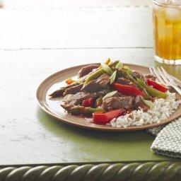 Saucy Pepper Steak