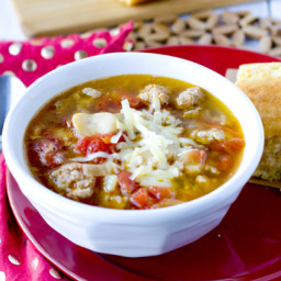 Sausage and Butter Bean Soup