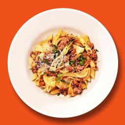 Sausage and fennel pasta