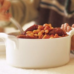 Sausage & Bean Pot