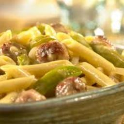 Sausage - Campbell's Cheddar Penne with Sausage & Peppers