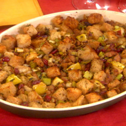 Sausage, Dried Cranberry and Apple Stuffing