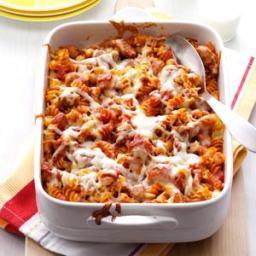 Sausage Spaghetti Spirals Recipe