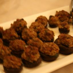 Sausage-Stuffed Cremini