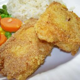 Sautéed cornmeal-crisped fish