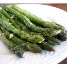 Sautéed Garlic Asparagus