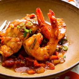 Sautéed Snapper and Shrimp with Creole Sauce