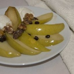 Sauteed Apples with Currants and Cognac (Mf)