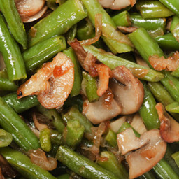Sauteed Green Beans and Mushrooms Recipe