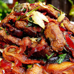 Sauteed Liver & Onions with Peppers