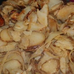 Sauteed Potatoes & Onions