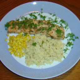 Savory Salmon recipe