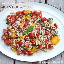 Savoury Balsamic Vegetarian Couscous